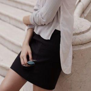 Madewell Night Spell Black Skirt